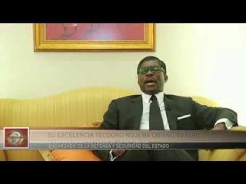 TEODORO NGUEMA OBIANG   ENTREVISTA EN EXCLUSIVA