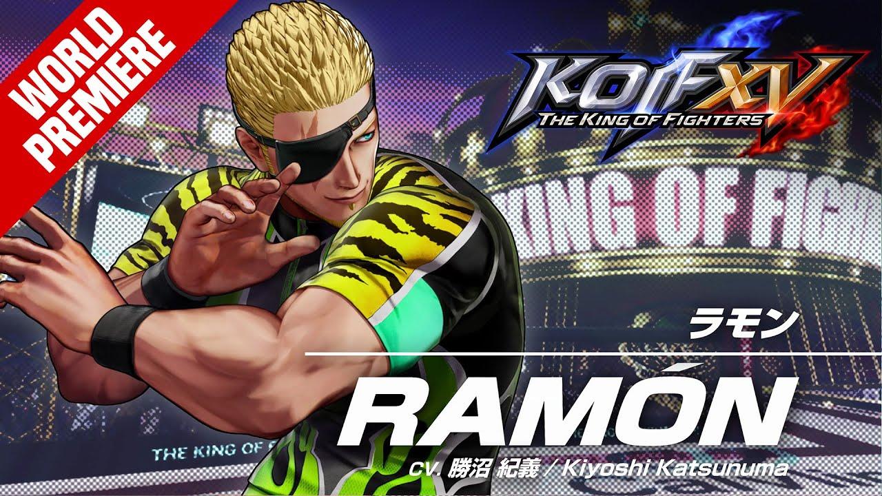 KOF XV|RAMÓN|Trailer #24