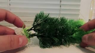 Искусственные водоросли для аквариума из Китая.