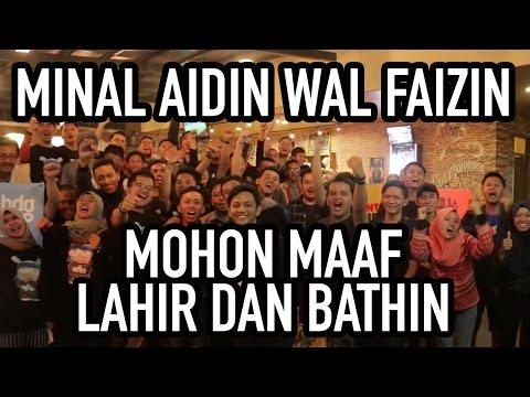 Minal Aidin Wal Faizin Mohon Maaf Lahir Dan Bathin Youtube