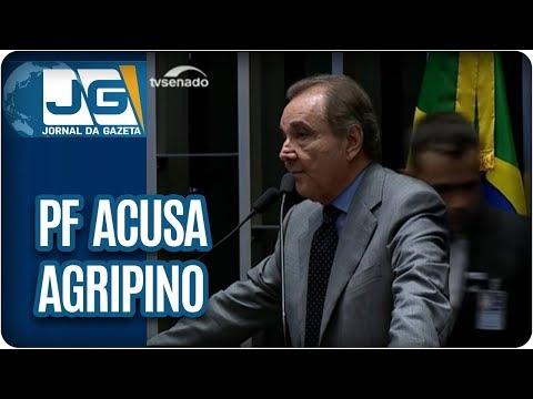 PF acusa Agripino de corrupção