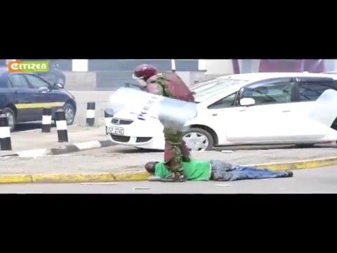 Uproar over police brutality