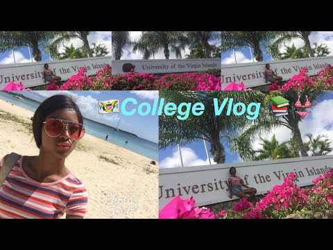 University Campus Tour Vlog | US Virgin Islands