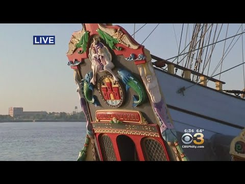 #CBS3SummerFest: Kalmar Nyckel Tall Ship Of Delaware