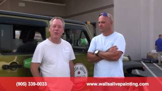 Leave it to Bryan Baeumler & Walls Alive Painting