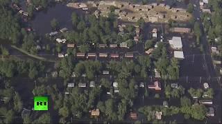 Inundaciones causadas por el huracán Florence en Carolina del Norte
