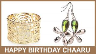Chaaru   Jewelry & Joyas - Happy Birthday