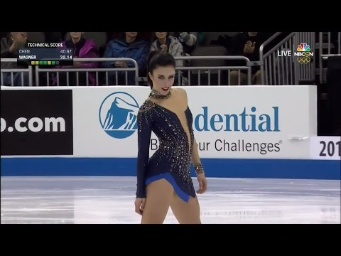 2017 US Nationals - Ashley Wagner SP NBCSN HD