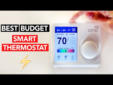 Best Budget SMART THERMOSTAT Review (Nest Alternative/Killer?)