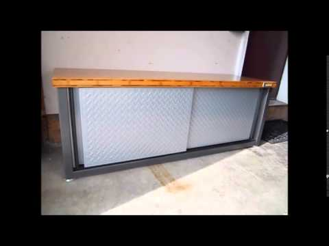 Gladiator Garageworks 55 Quot Bamboo Bench Review Youtube