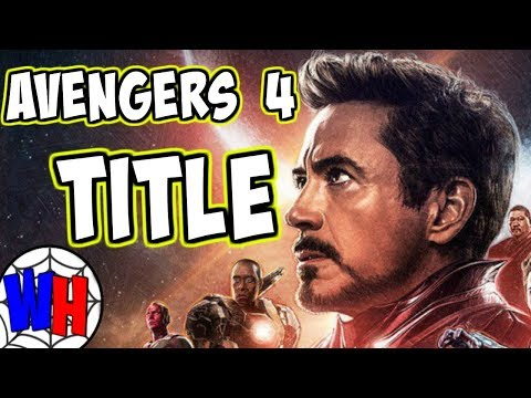Avengers 4 Title and Trailer RELEASE DATE...