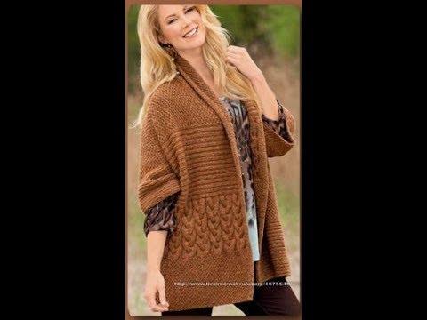 Вязание Спицами Кардиганов, Свитеров, Кофт - модели - 2019 / Knitting Knit Sweaters Cardigans