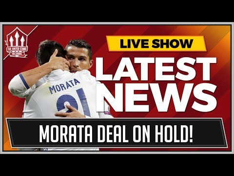 MORATA TO MAN UTD HALTED BY RONALDO? MAN UTD TRANSFER NEWS