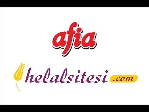 Gimdes Helal Sertifikalı Afia Gıda Ürünleri Www.helalsitesi.com 'da 0212 528 5 528