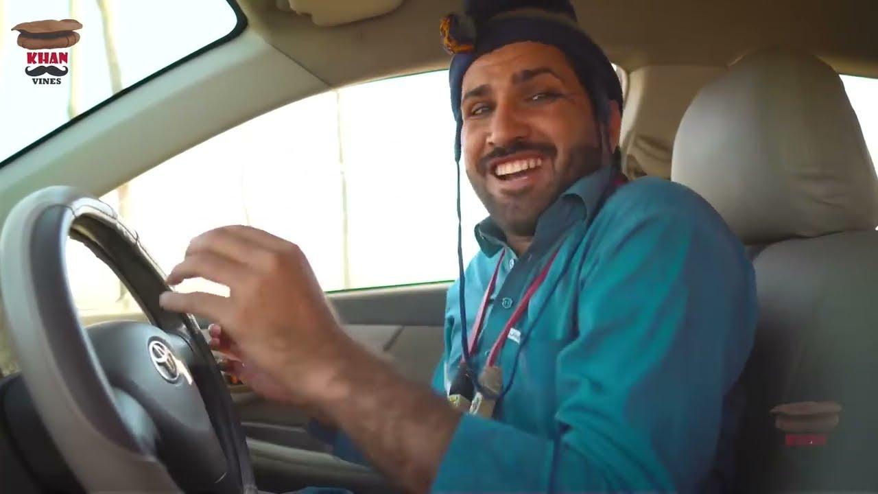 Sada Gul Driver Sho New Funny Video By Khan Vines 2021