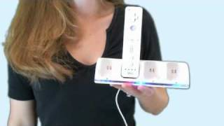 Wii Remote Quadruple Charge Station with 4 Rechargeable Batteries