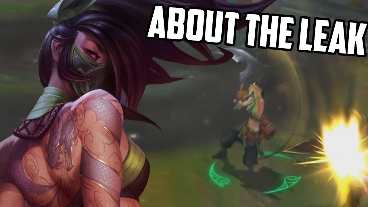 So, The Akali Rework Was Leaked.