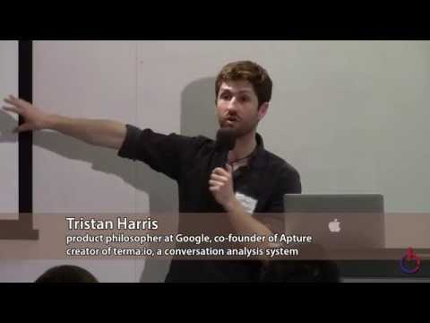 Consciousness Hacking SF 2015-04-27 Part 1: Tristan Harris, Pioneer of 'Design Ethics'
