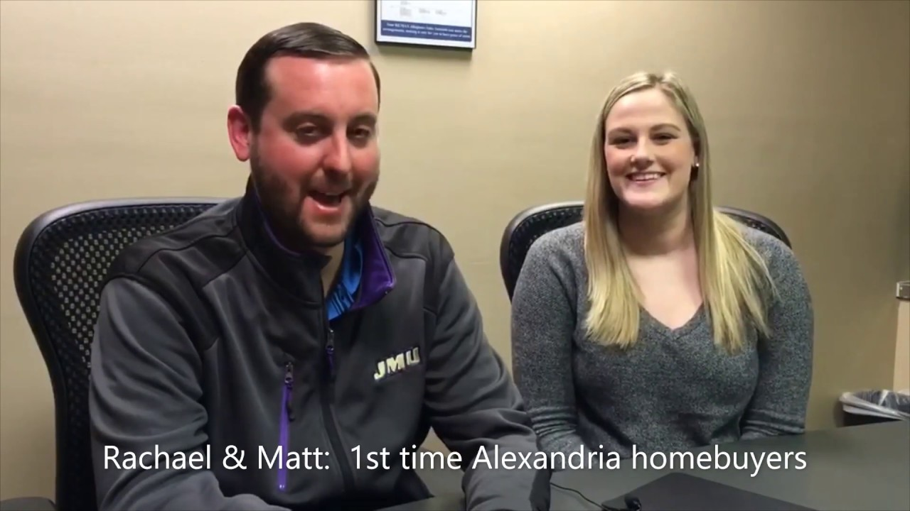 Rachael & Matt: 1st time Alexandria homebuyers