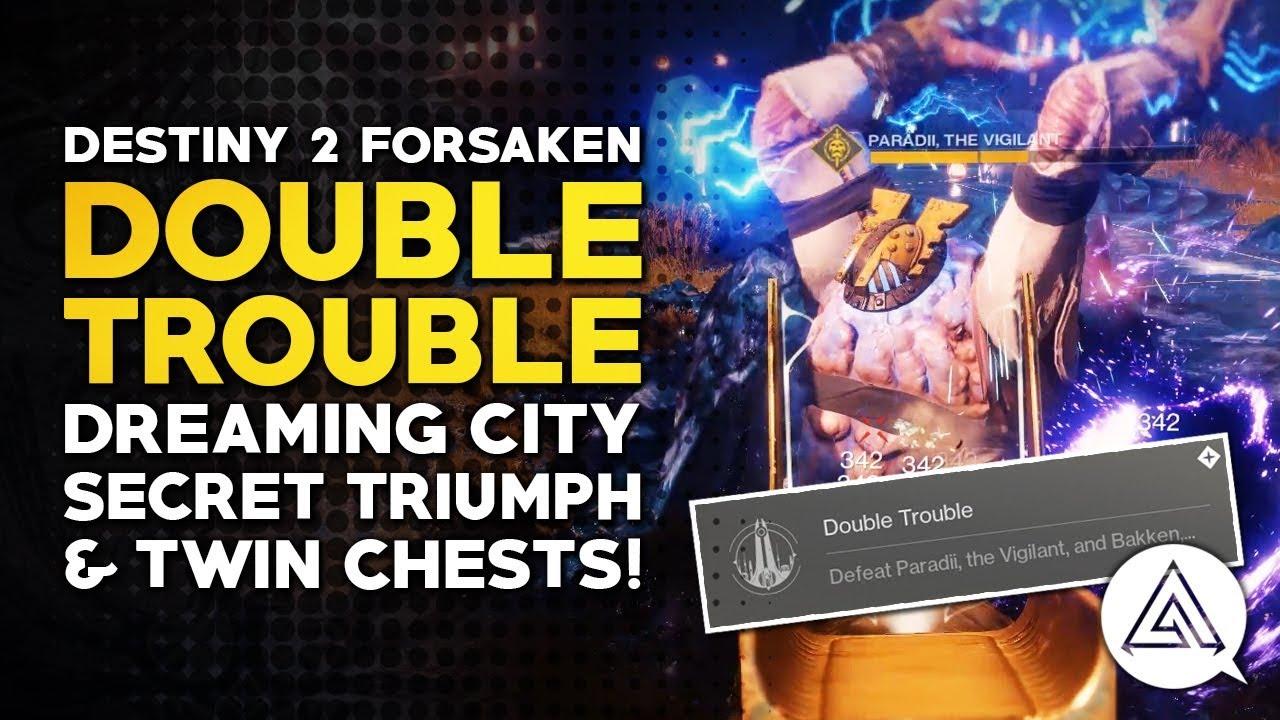 trouble super Double wrestling