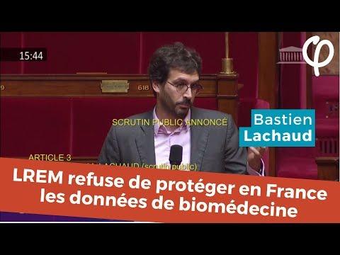 LREM refuse de protéger en France les données personnelles de biomédecine