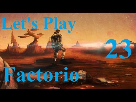 23. Let's Play Factorio - Rocket Defense