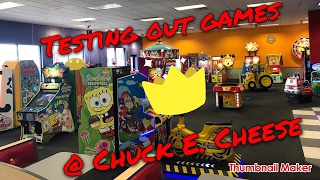 testing out games at cec   vlog 23