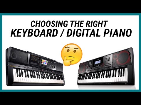 Choosing the Right Keyboard/Digital Piano - Nathaniel School of Music