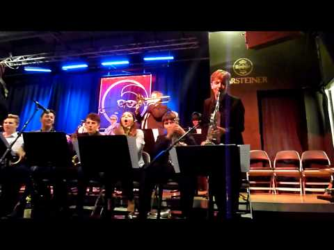 Chethams Big band at Band on The Wall 23rd June 2015 perform Northern Soul by Richard Iles.