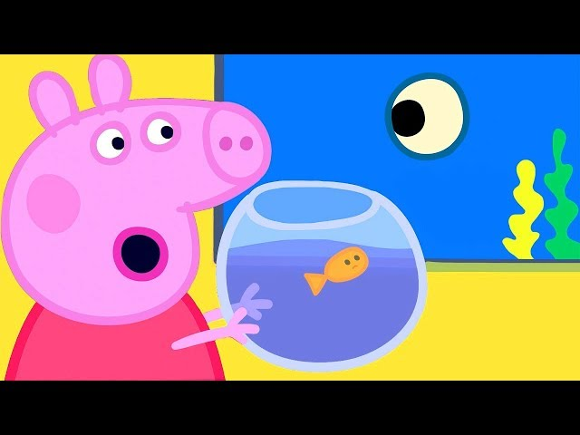 Peppa Pig Official Channel | Peppa Pig Visits the Aquarium with Goldie the Fish