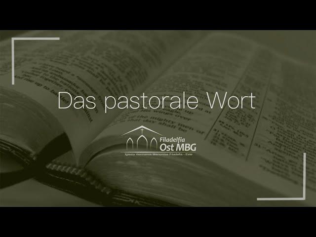 Das pastorale Wort - September [Kenny Goossen]