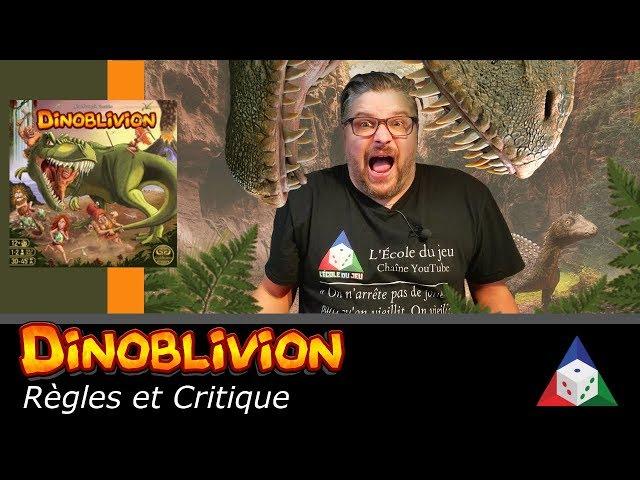 Dinoblivion - Règles et critique