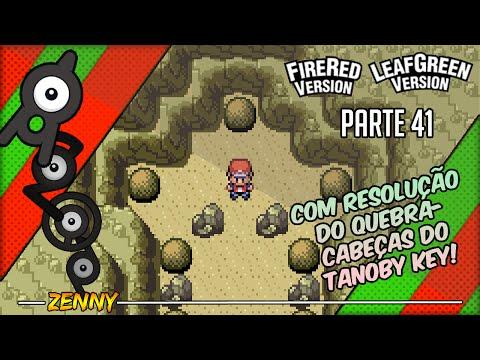 Detonado Pokémon Fire Red Parte 41 - (As Ruínas Tanoby)