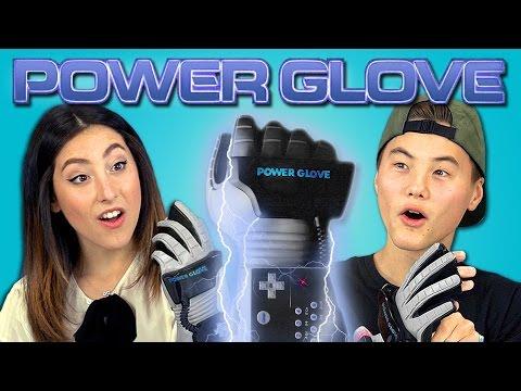 TEENS REACT TO POWER GLOVE (Nintendo) - YouTube
