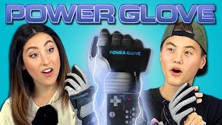 TEENS REACT TO POWER GLOVE (Nintendo) thumbnail