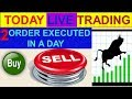 Intraday live trading 2 order executed in a day  15 -01- 2019 # By Greentipsnadvise Channel