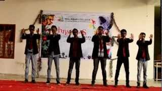 aayiram kannumai action song by civil batch of malabar college