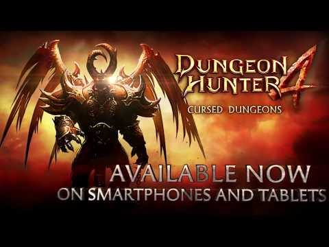 Dungeon Hunter 4:  Cursed Dungeons (Gameloft) - Google Play Game Trailer !!!