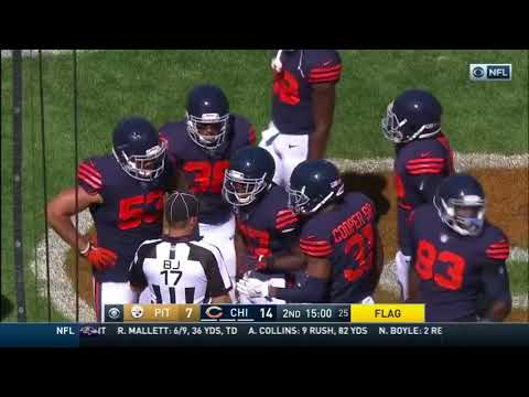 Marcus Cooper Sr. Costs  Chicago Bears a Touchdown for Showboating Against Steelers!