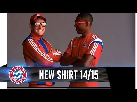 Out Now: The New FC Bayern Home Shirt