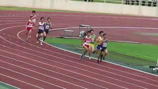 水戸地区男子800m 決勝 9月7日 1着 4レーン 1:59.60 [1353] 中村 建斗 (2) ...