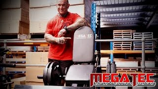 MEGATEC Compact Leg Press Demo by Lee Priest
