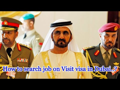 He came to Dubai on visit for job search