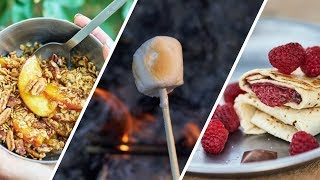 3 CAMPING DESSERT RECÏPES - Quick and Easy Camp Desserts