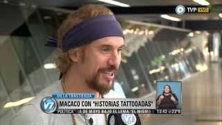 """Visión 7 - Macaco trae """"Historias Tattooadas"""""""
