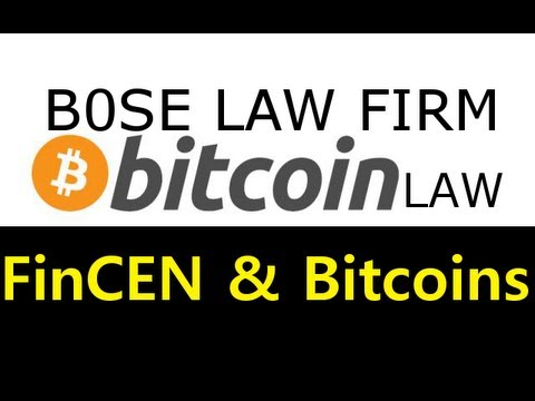 """Bitcoin Foundation is Wrong! BitcoinLaw - """"FinCEN and BitCoin Miners"""""""