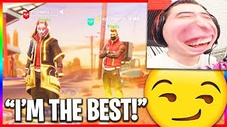 He Says He Has 5000 Wins in Fortnite... (Funny Random Duos)
