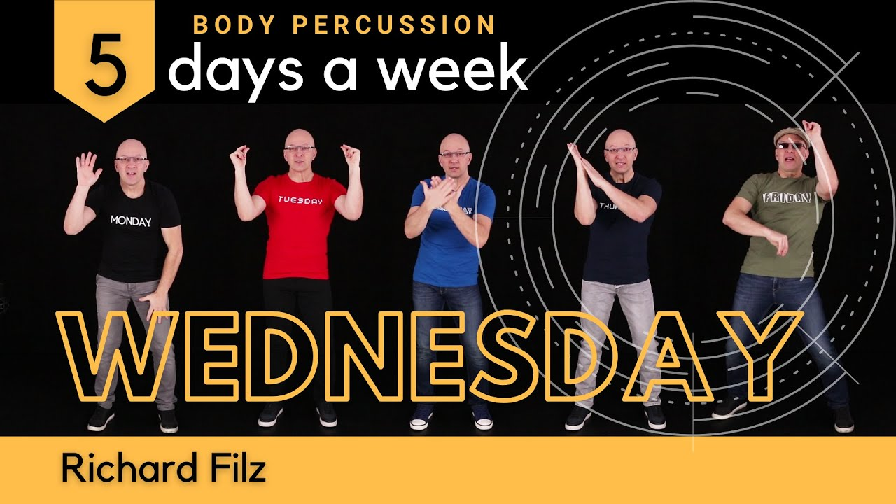 Download WEDNESDAY-BODY PERCUSSION 5 Days A Week