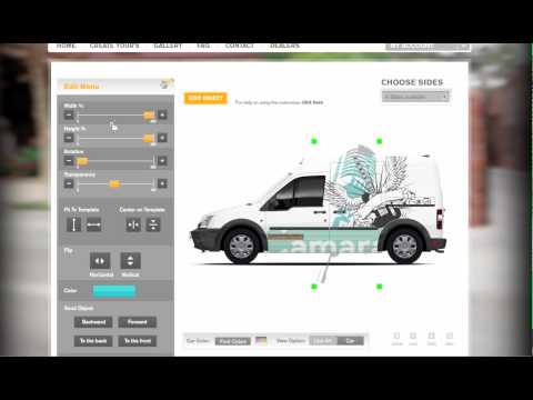 Ford Transit Connect Graphics Tutorial