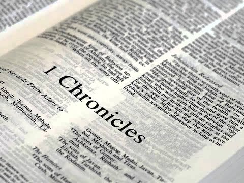 The Complete Book of 1 Chronicles Read Along
